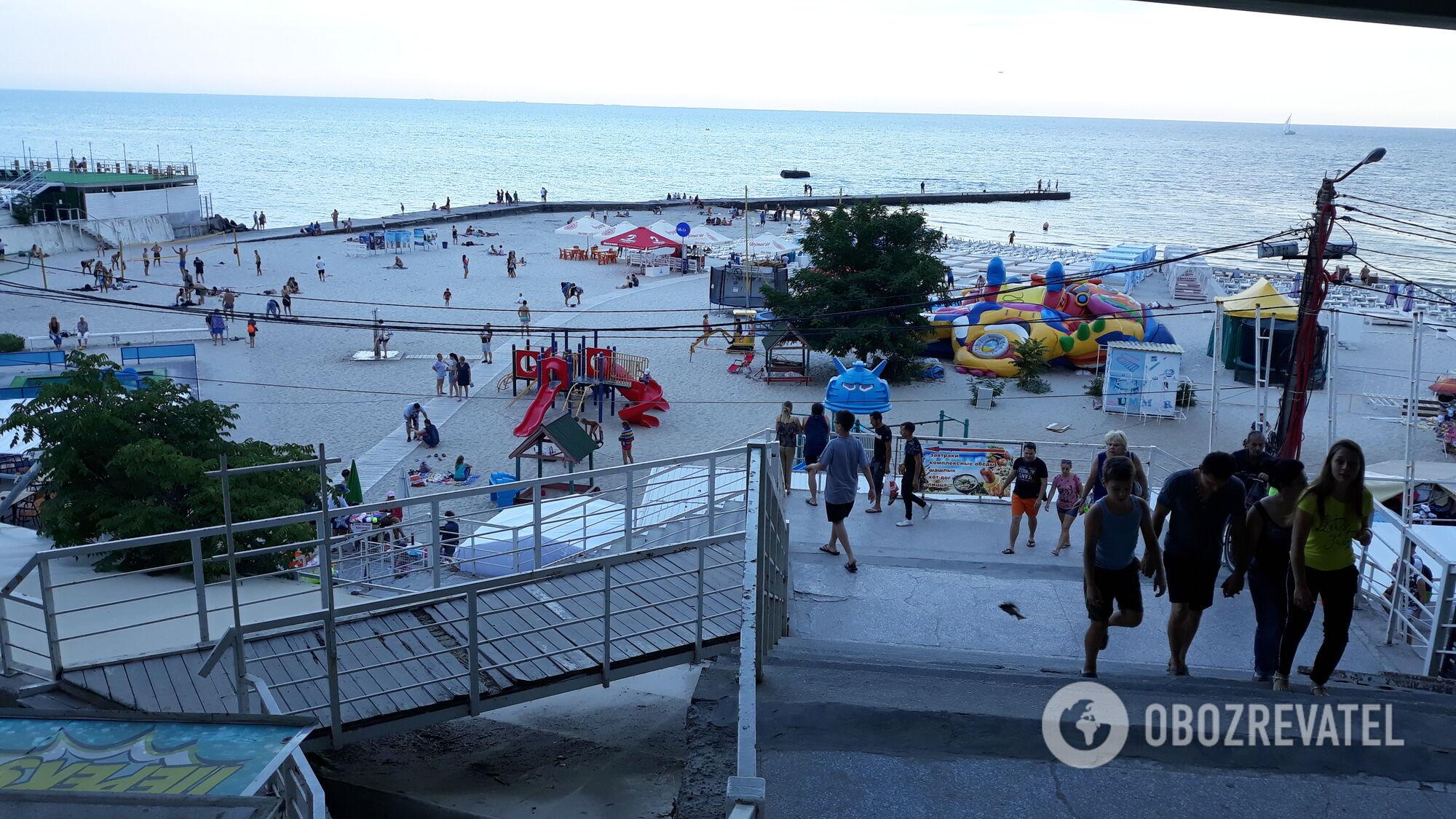Найпопулярнішим курортом Чорного моря в Україні є Одеса