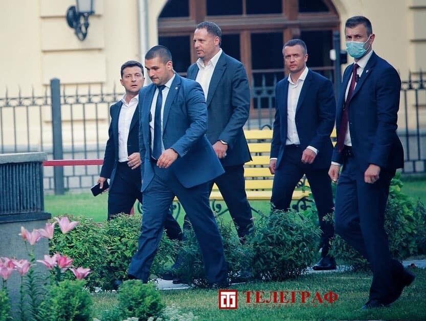 Збори відвідали президент і глава його Офісу Андрій Єрмак