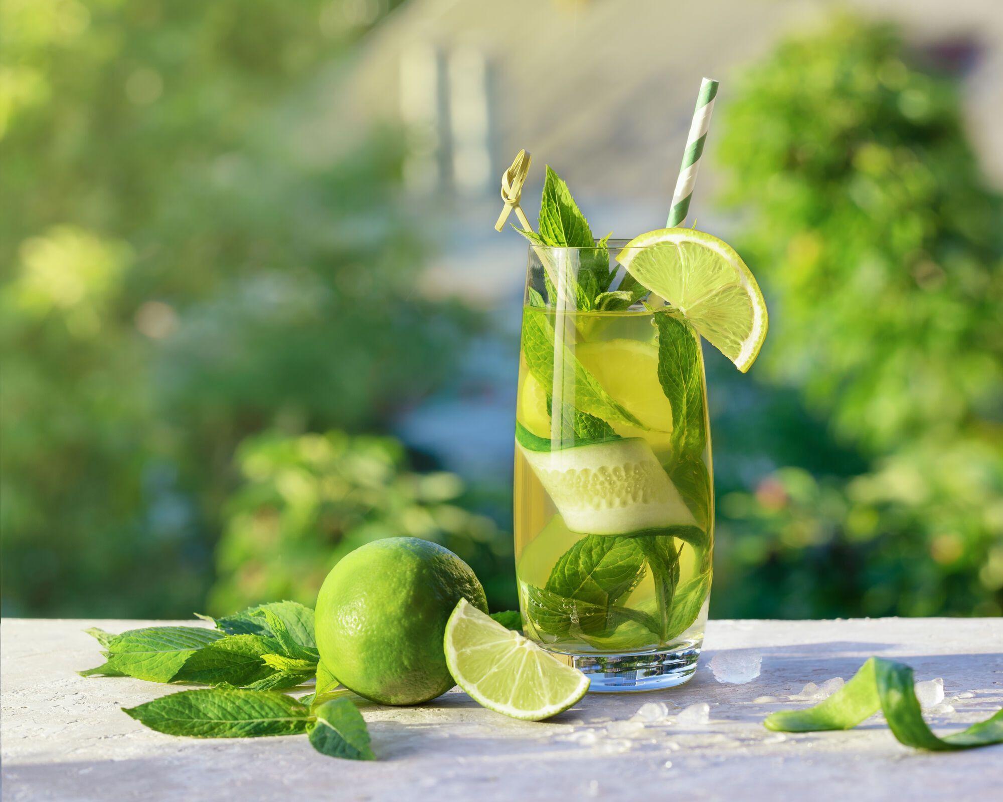 Охлаждающий лимонад