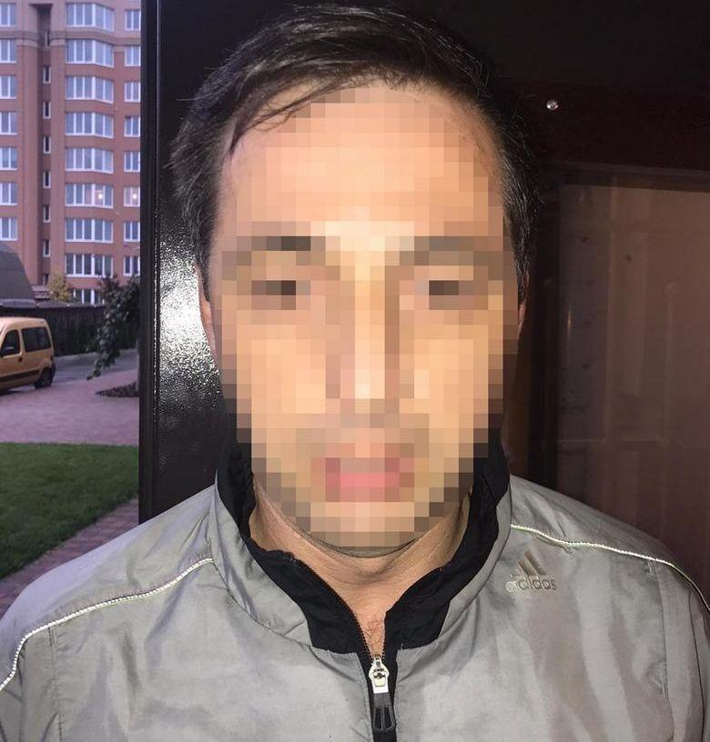 Тренера затримали в Київській області.