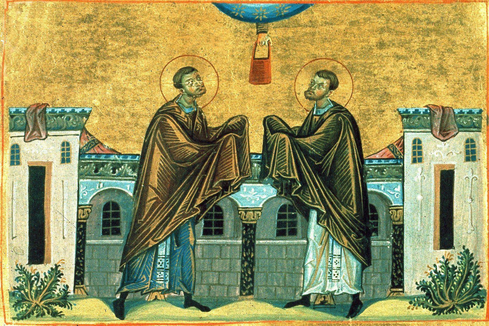14 июля православные верующие чтут память святых Кузьмы и Демьяна