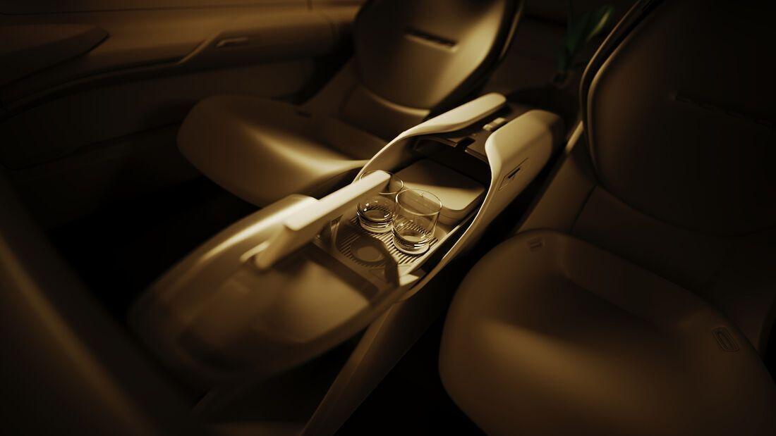 Детали интерьера Audi Grand Sphere Concept