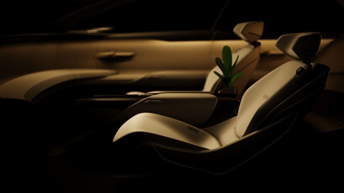 Интерьер Audi Grand Sphere Concept