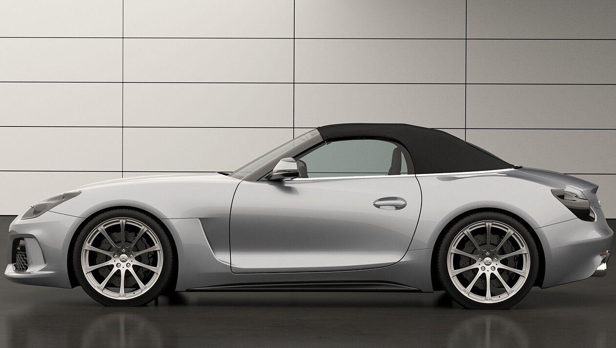 """За рахунок більш """"м'язистих"""" форм Boldmen CR4 довшою і ширшою родинного BMW Z4"""