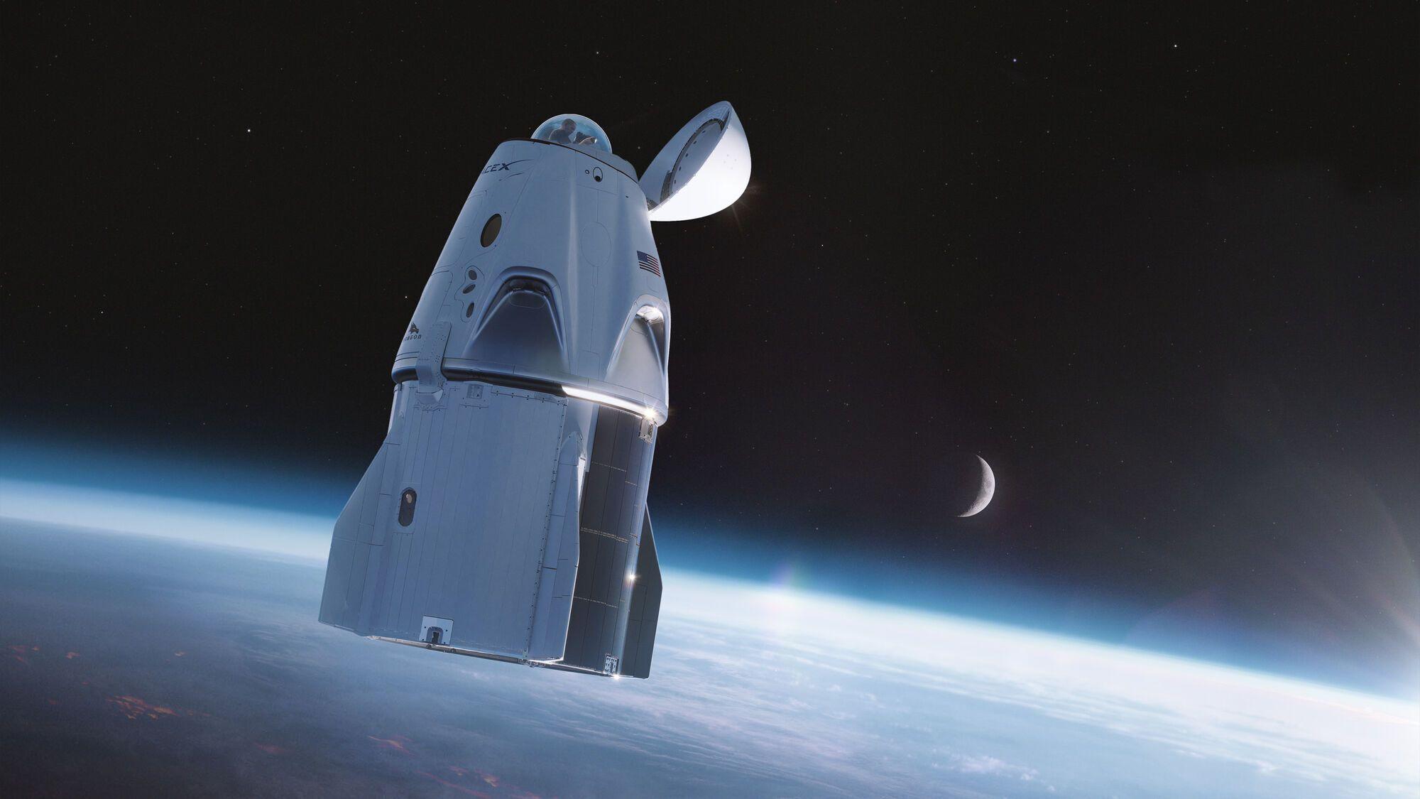 Полетіти в космос коштує 55 мільйонів доларів з людини