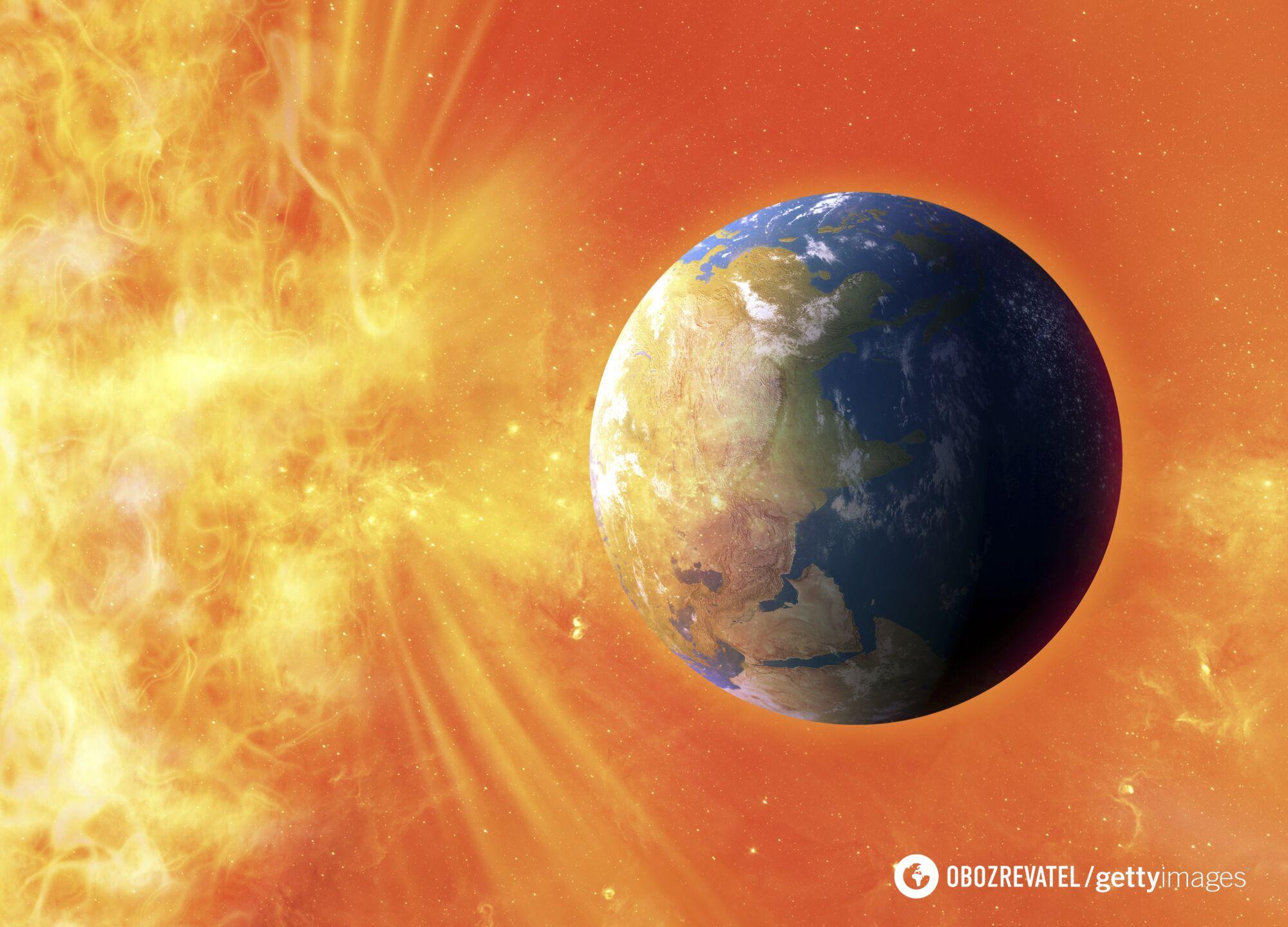 Через сонячну бурю можуть бути перервані супутникові сигнали на Землі