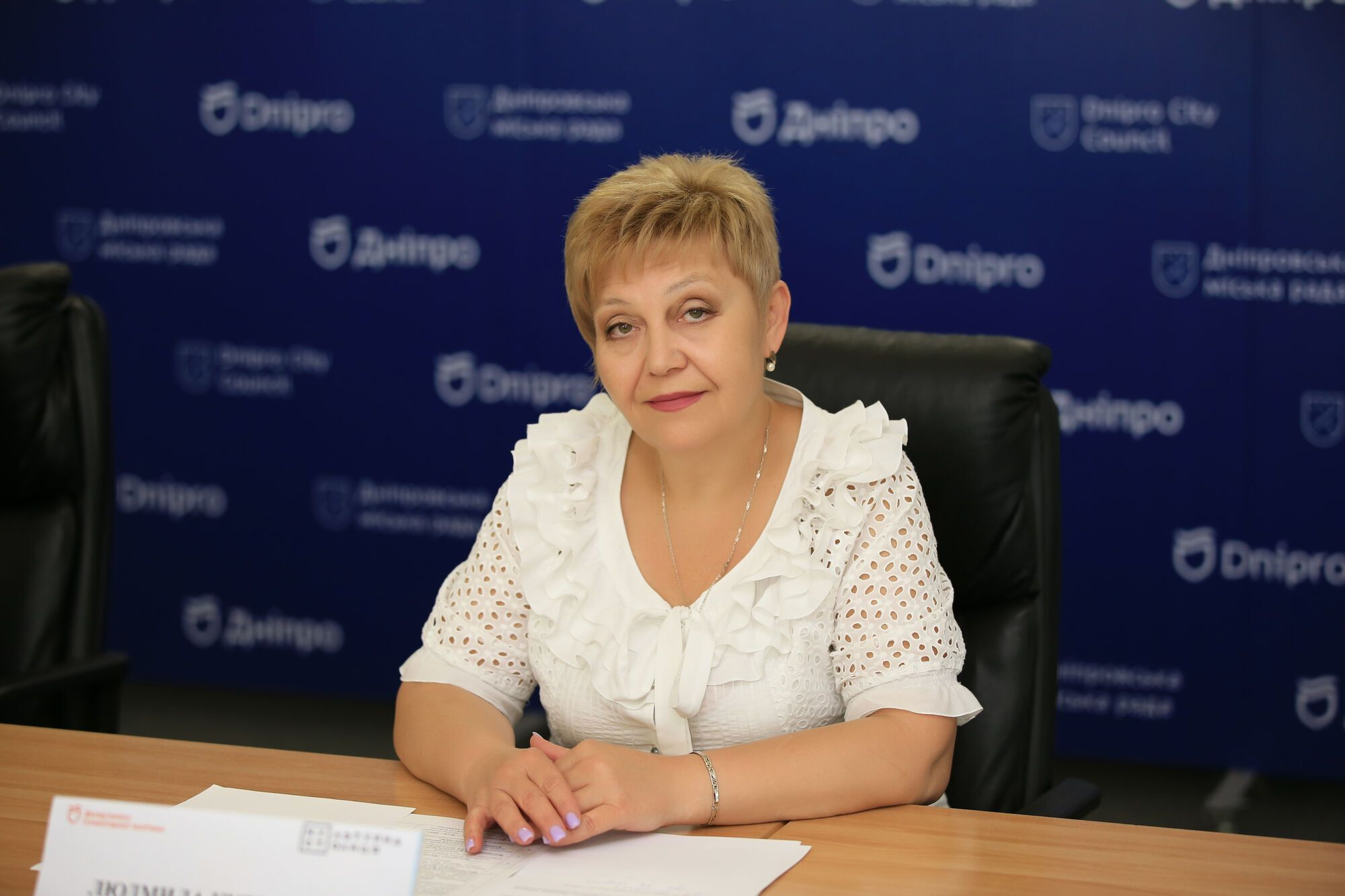 Заместитель начальника управления культуры департамента гуманитарной политики Днепровского городского совета Людмила Кудряшова