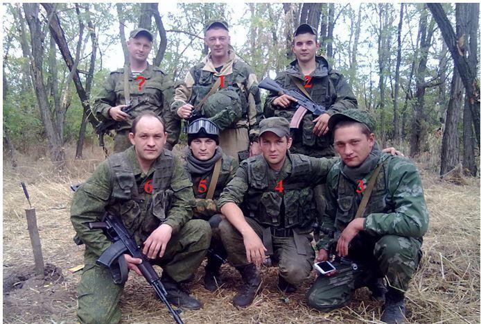 Загальний знімок військових.