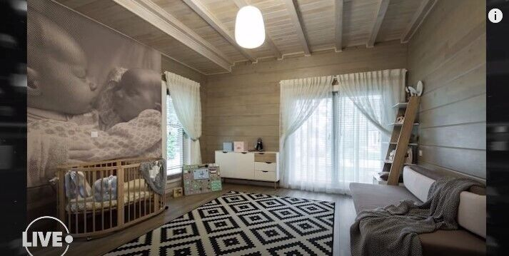 Детская комната в доме Кравец