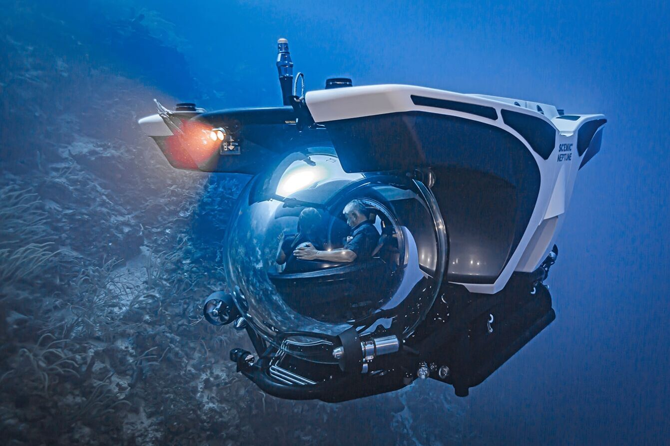 "Мальовничий підводний човен ""Нептун"""
