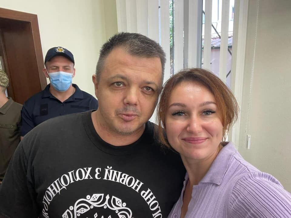 Семен Семенченко з дружиною