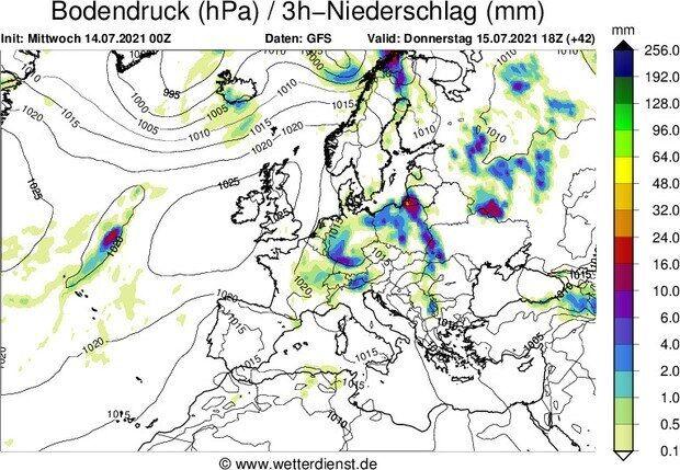 Прогноз на дощі 15 липня в Україні