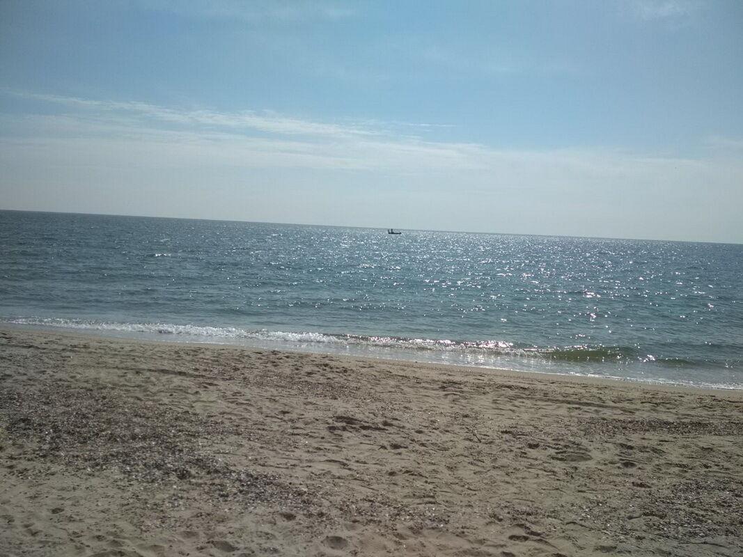 Пляж в Затоке