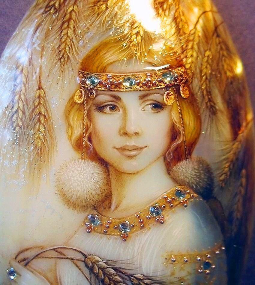 Берегиня – жінка-божество, дух-хранитель