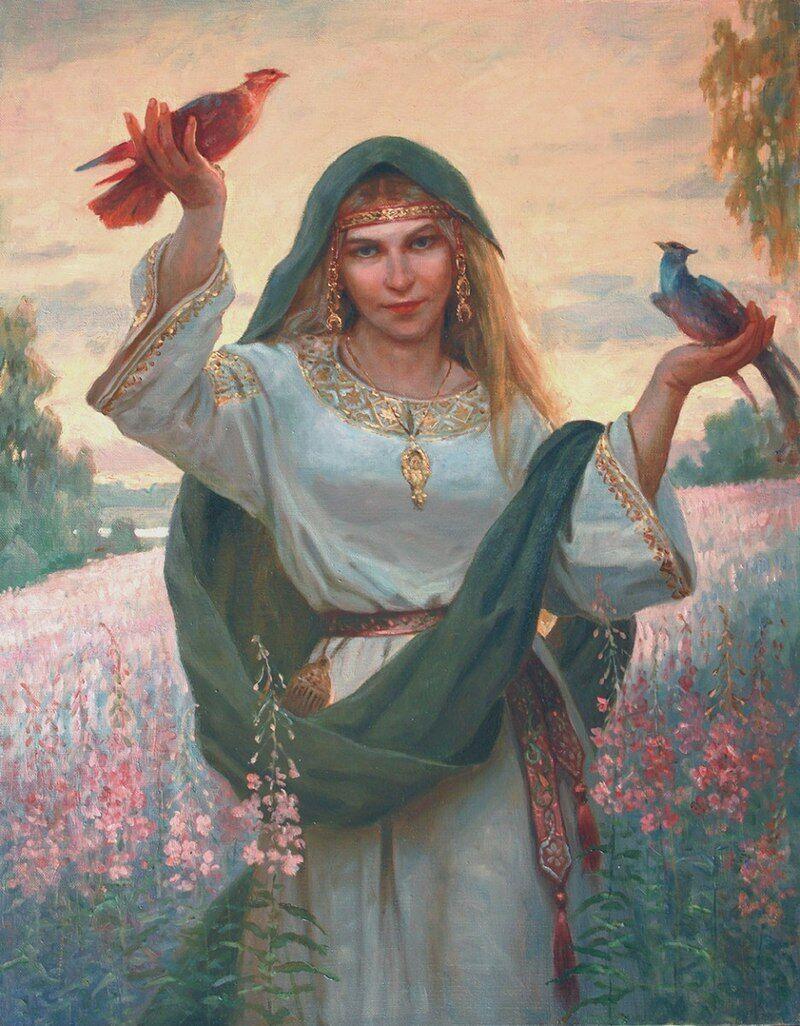 Берегиня – це слов'янське божество, яке також називають матір'ю всіх духів і всього багатства землі