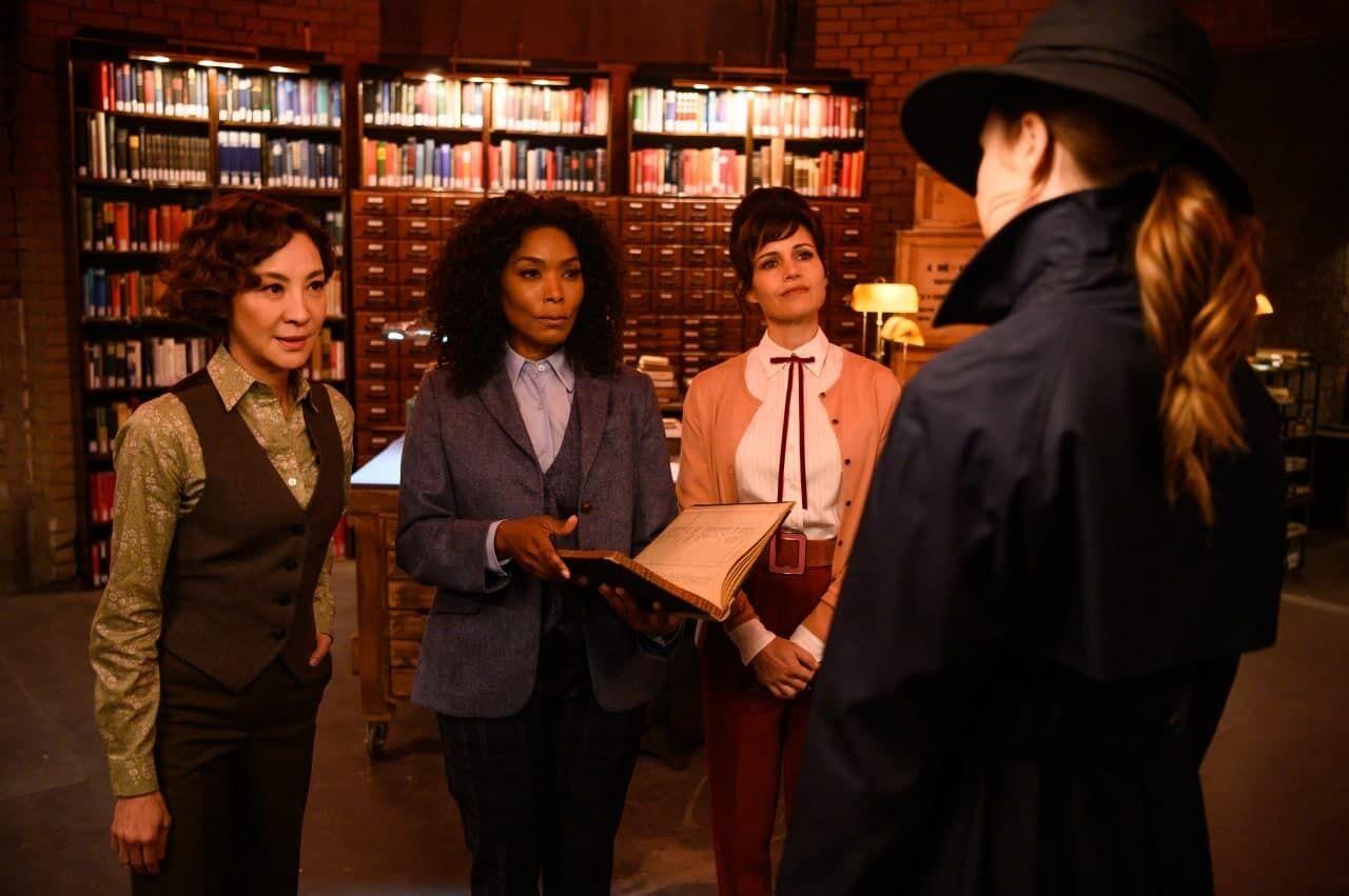 Подруги главной героини – загадочные Библиотекарши