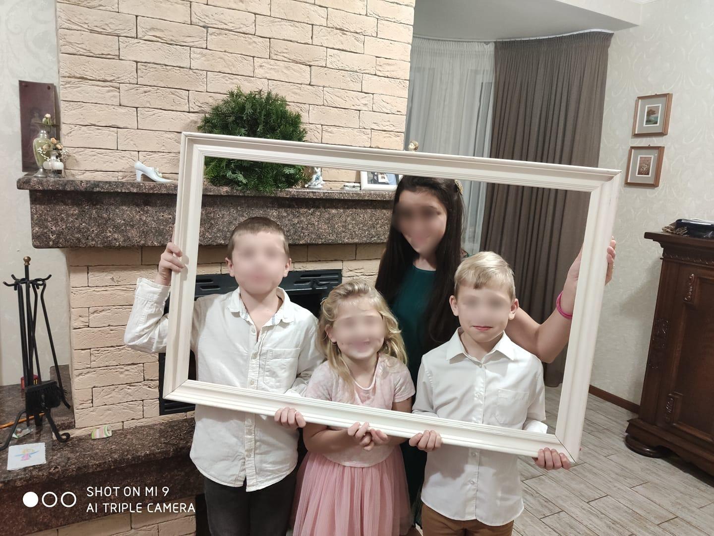 В семье Анжелики и Александра четверо детей.