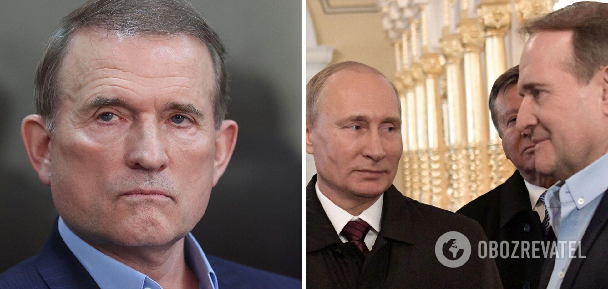 Путін – кум Медведчука