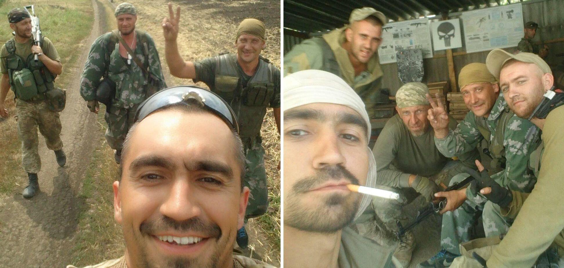"""Погибший Андрей Беляев на фото держит пальцы """"V"""""""
