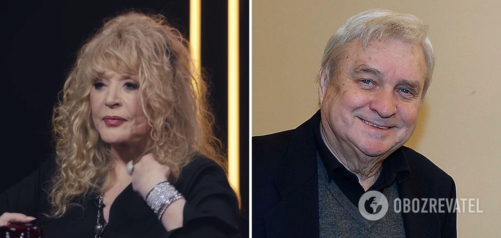 Александр Стефанович и Алла Пугачева