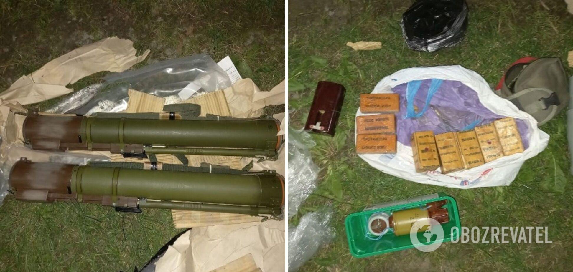 """В автомобиле военного нашли """"склад"""" оружия и взрывчатки"""