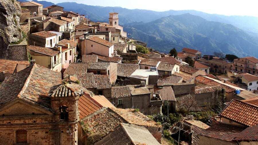 Село в Італії.