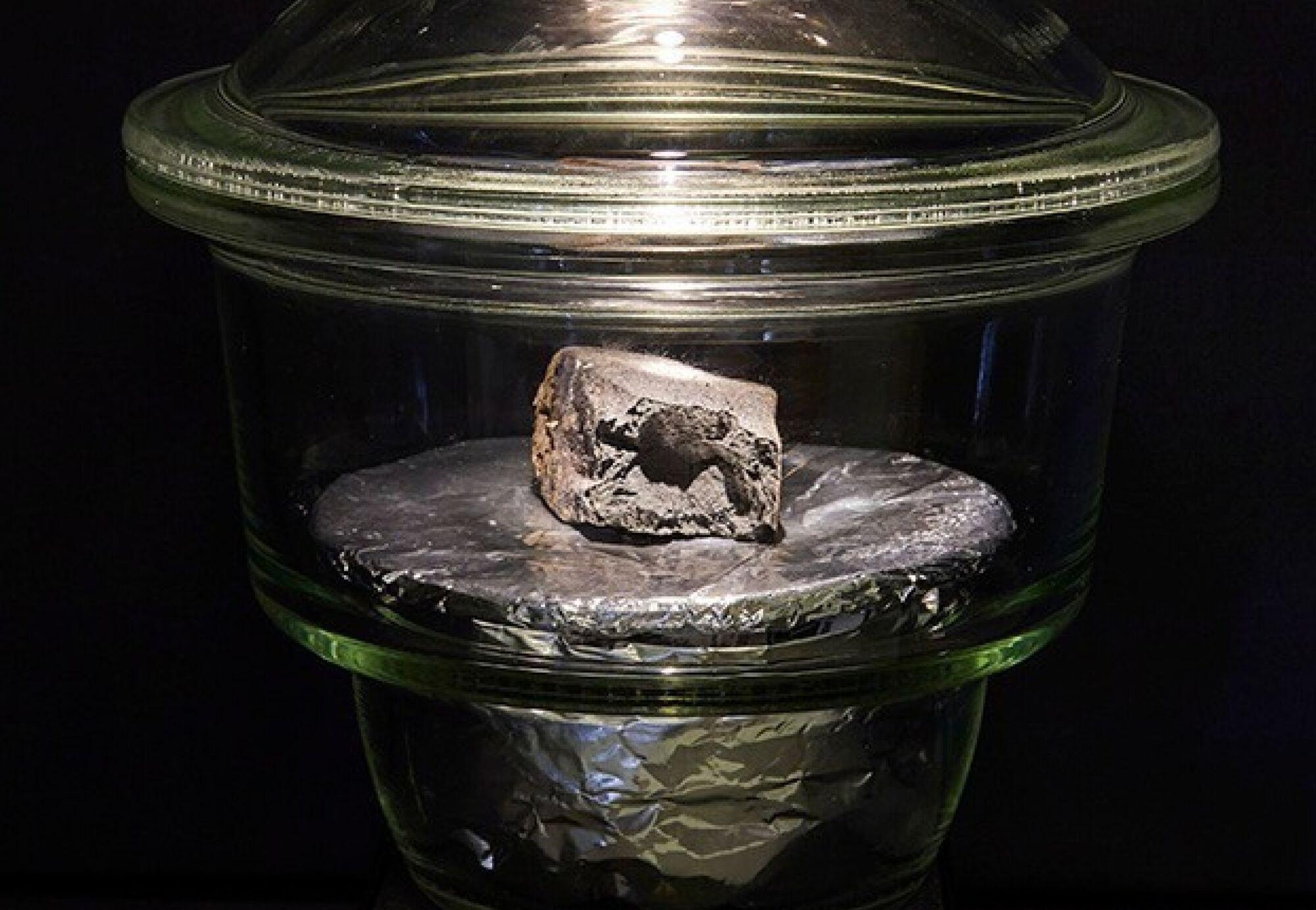 Возраст метеорита около 4,5 миллиарда лет