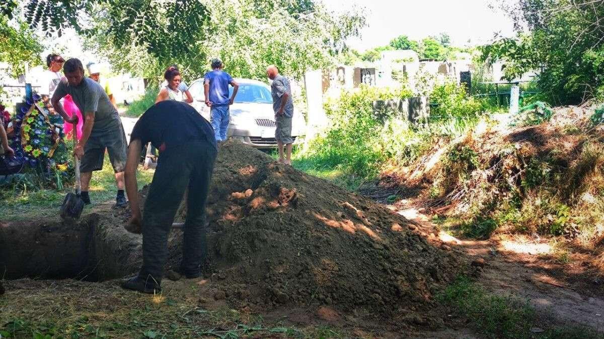 Мужчину похоронили 14 июля