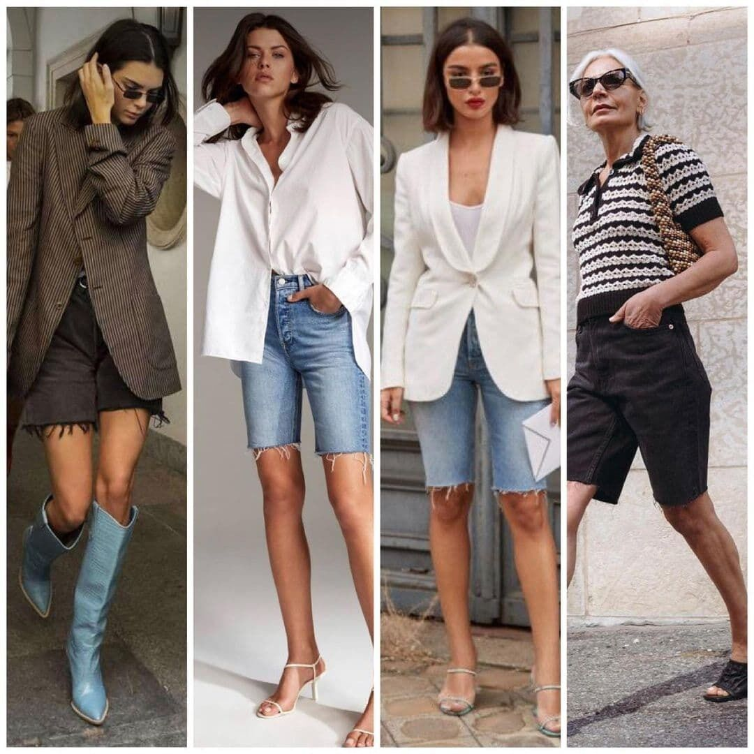 Джинсові шорти: з чим носити
