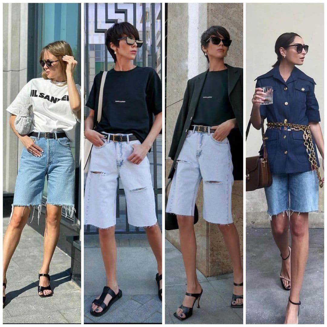 З чим носити джинсові шорти
