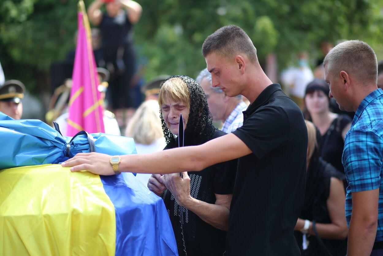 Церемония прощания с Владимиром Яскивым.