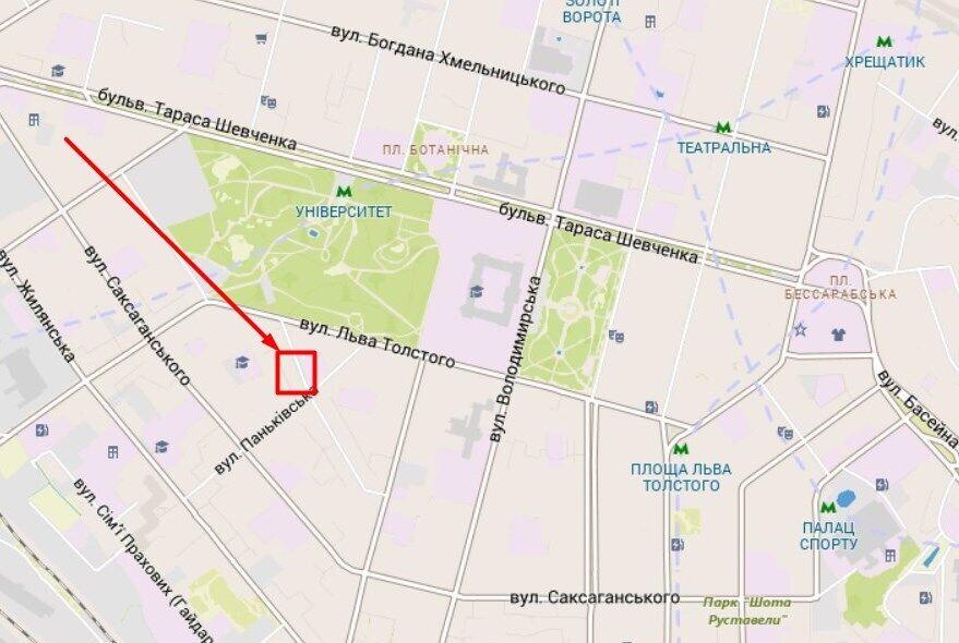 Разбойное нападение произошло в Голосеевском районе