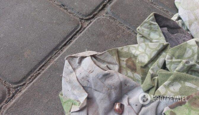 Место преступления – на территории домовладения Назаруков