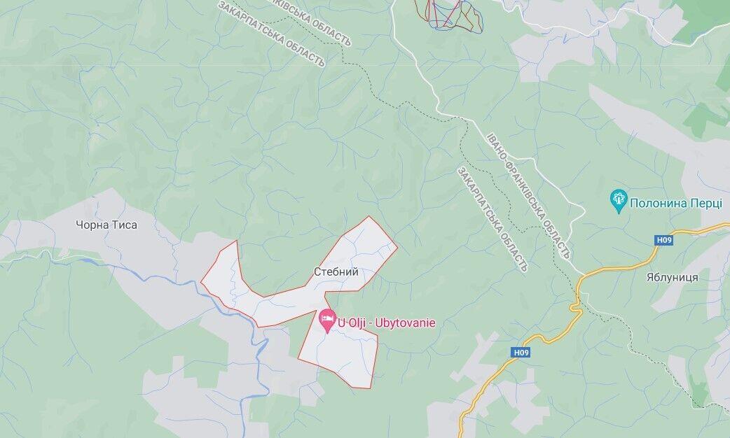 Дівчинка врятувала дітей під час паводку в селі Стебний на Рахівщині