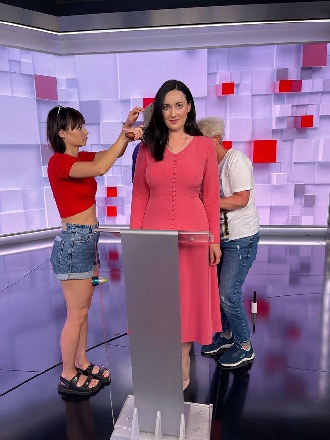 Витвицкая вышла в прямой эфир после аварии.