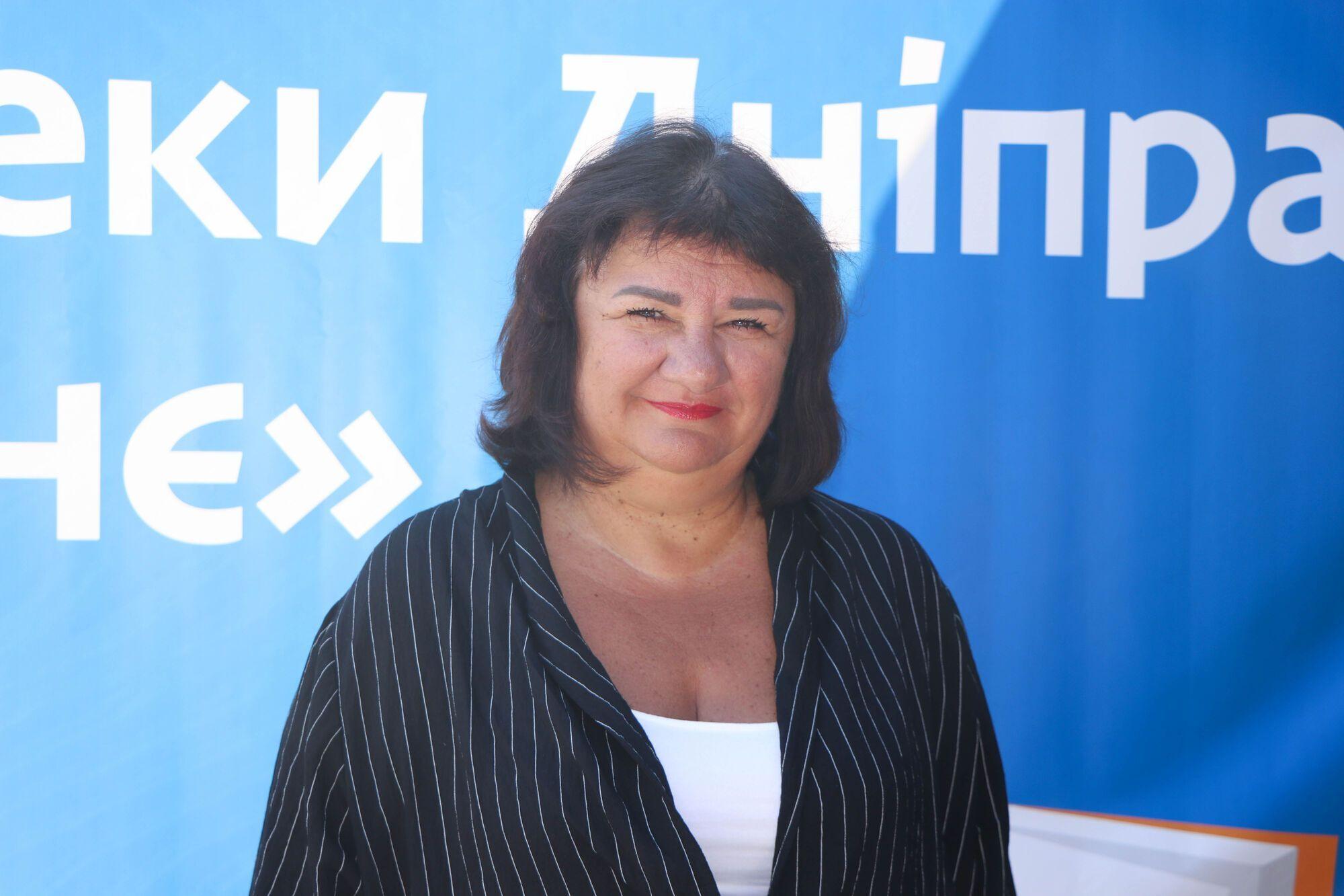 Председатель постоянной комиссии по вопросам образования, культуры, молодежи и спорта Днепровского городского совета Наталья Демидова