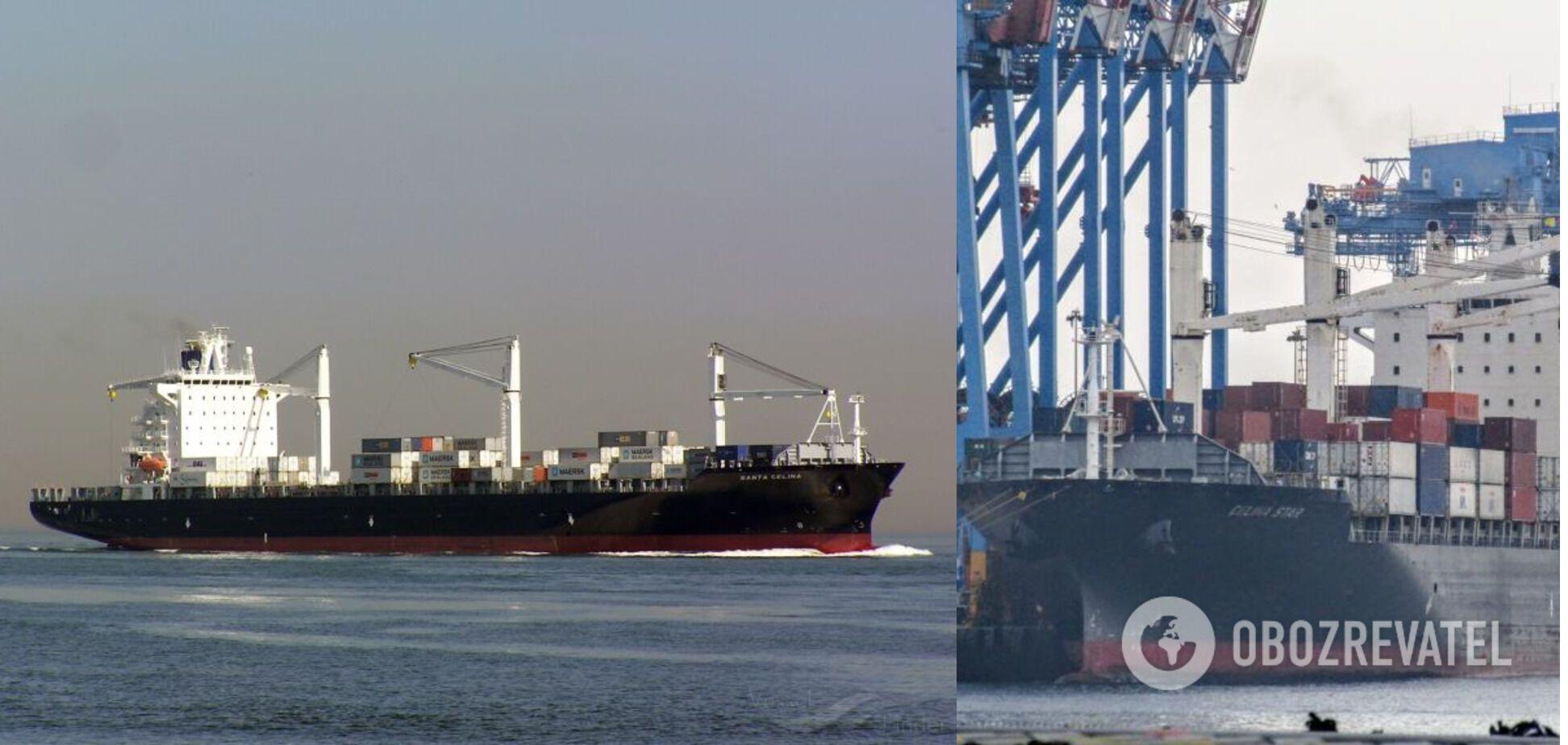 MSC CAPUCINE R перебуває в порту Іскендерун