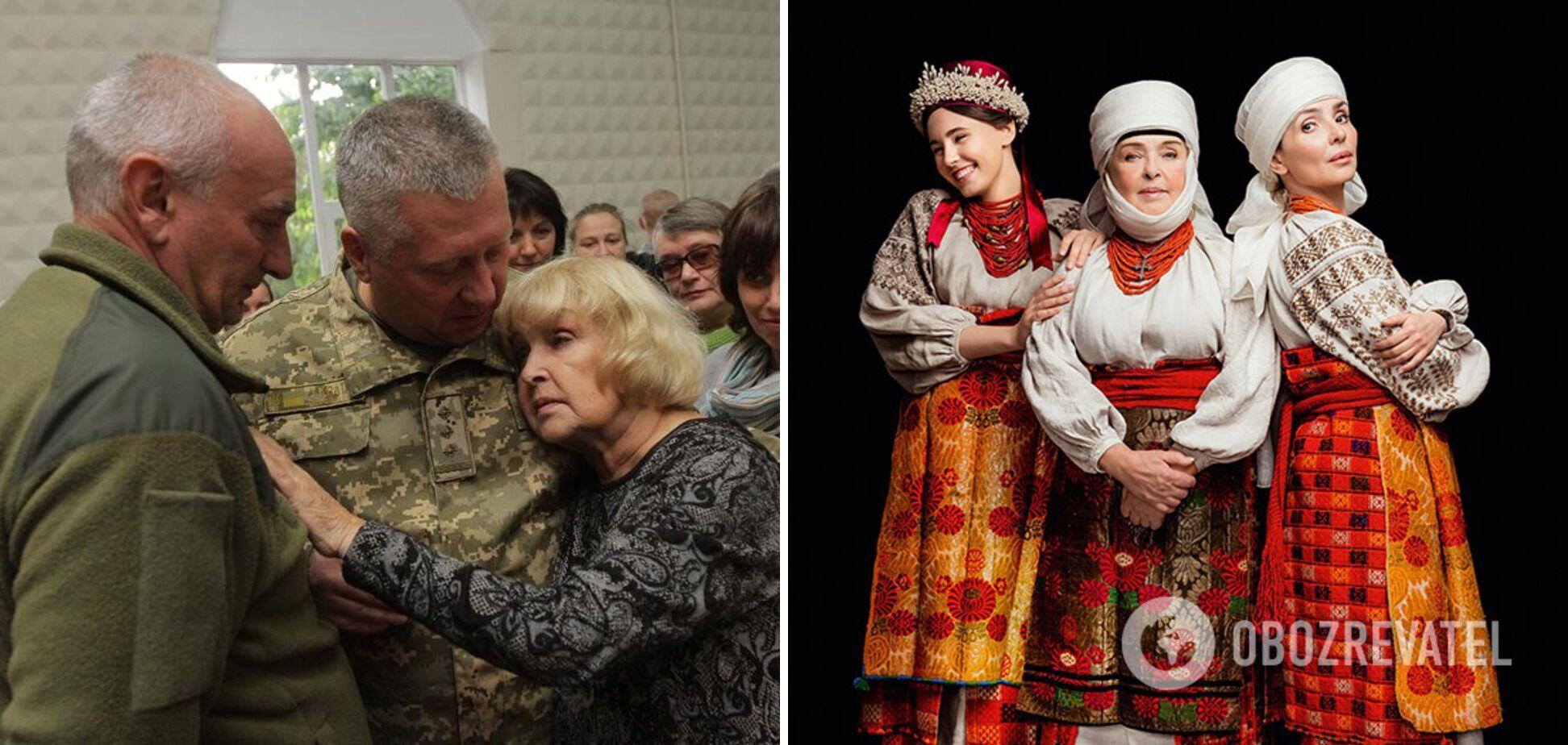 Ада Роговцева поддерживает бойцов АТО.