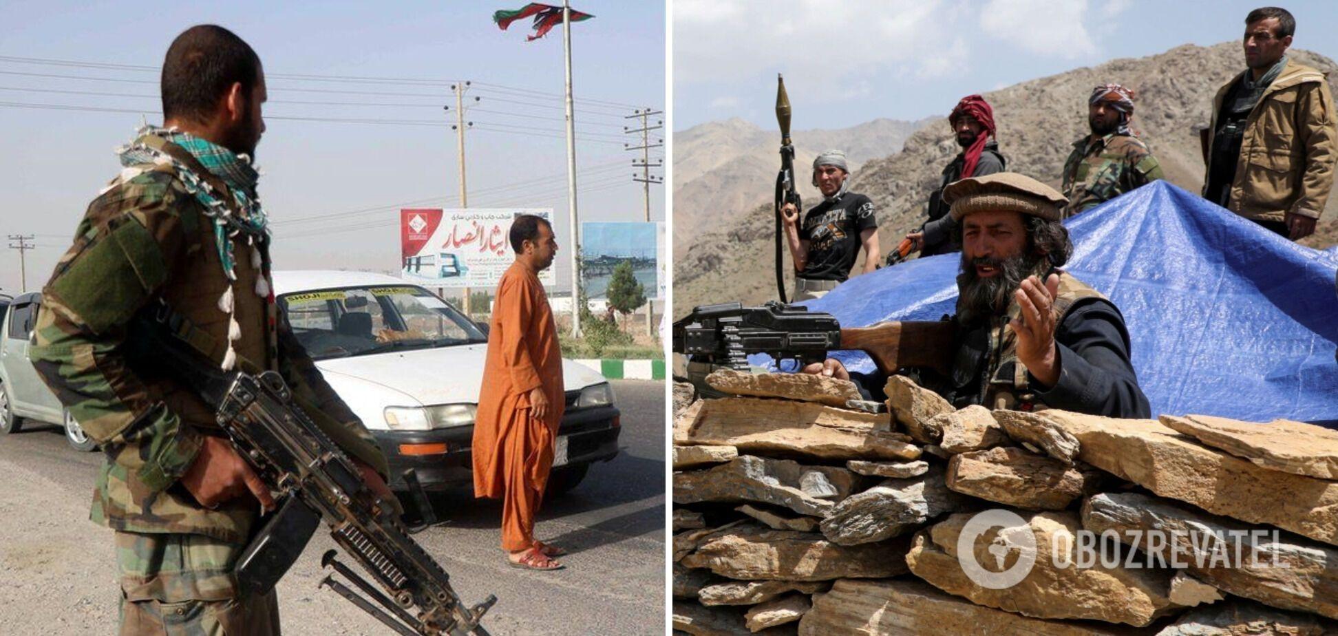 Після відведення з Афганістану військ США таліби швидко просуваються країною