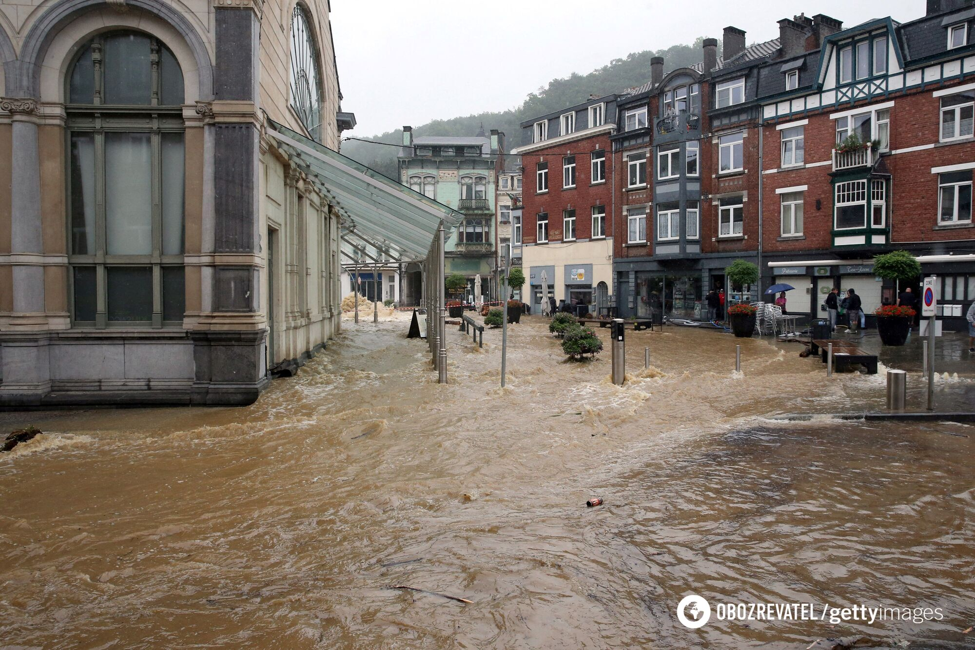 Водой затопило дома