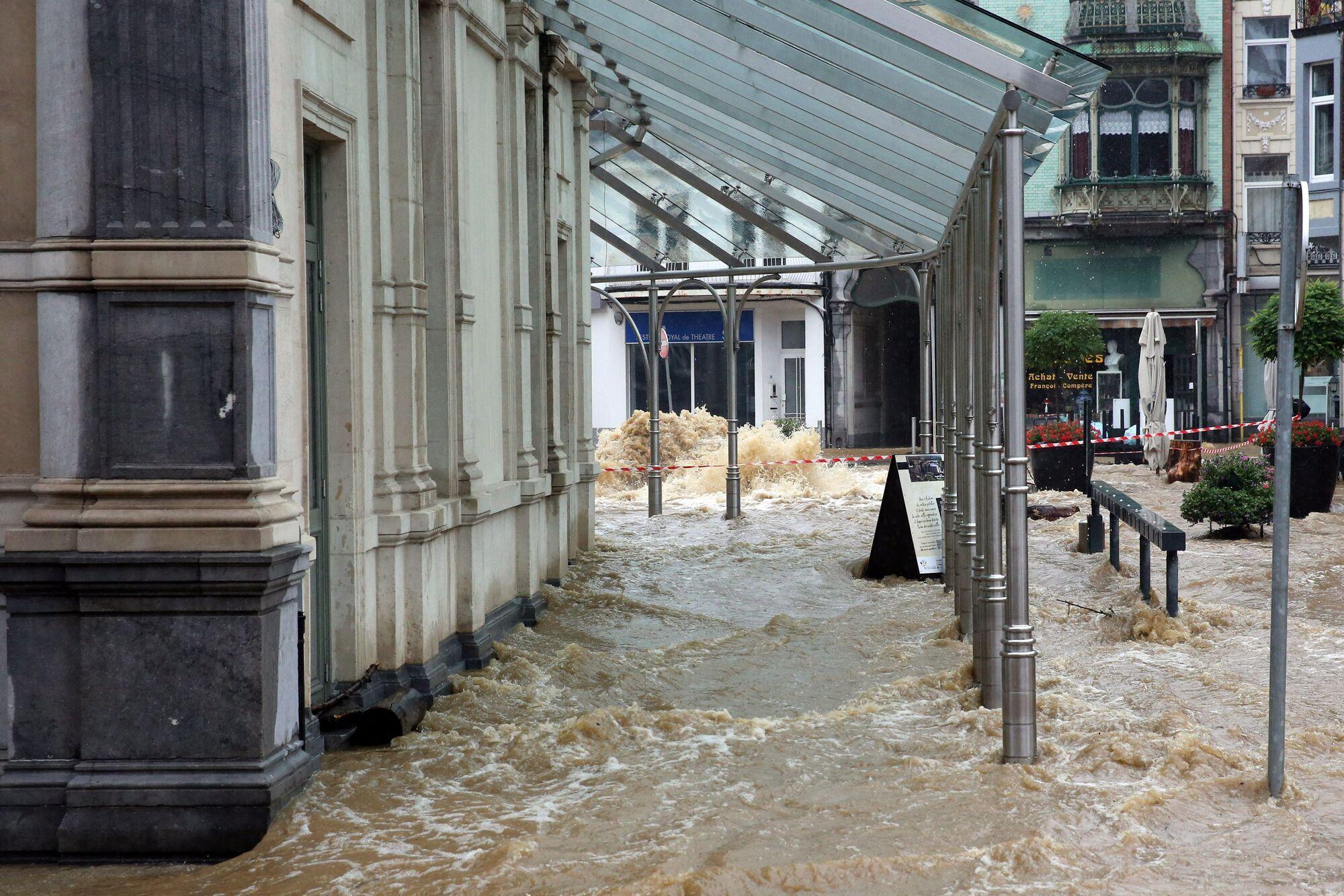 Потоп в Бельгии