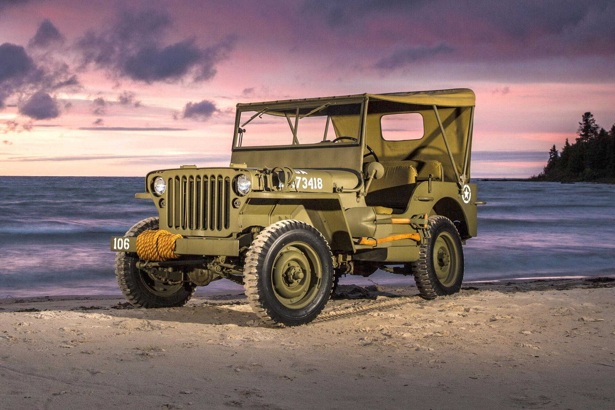 К 1945 году были изготовлено свыше 350 тысяч Jeep MB