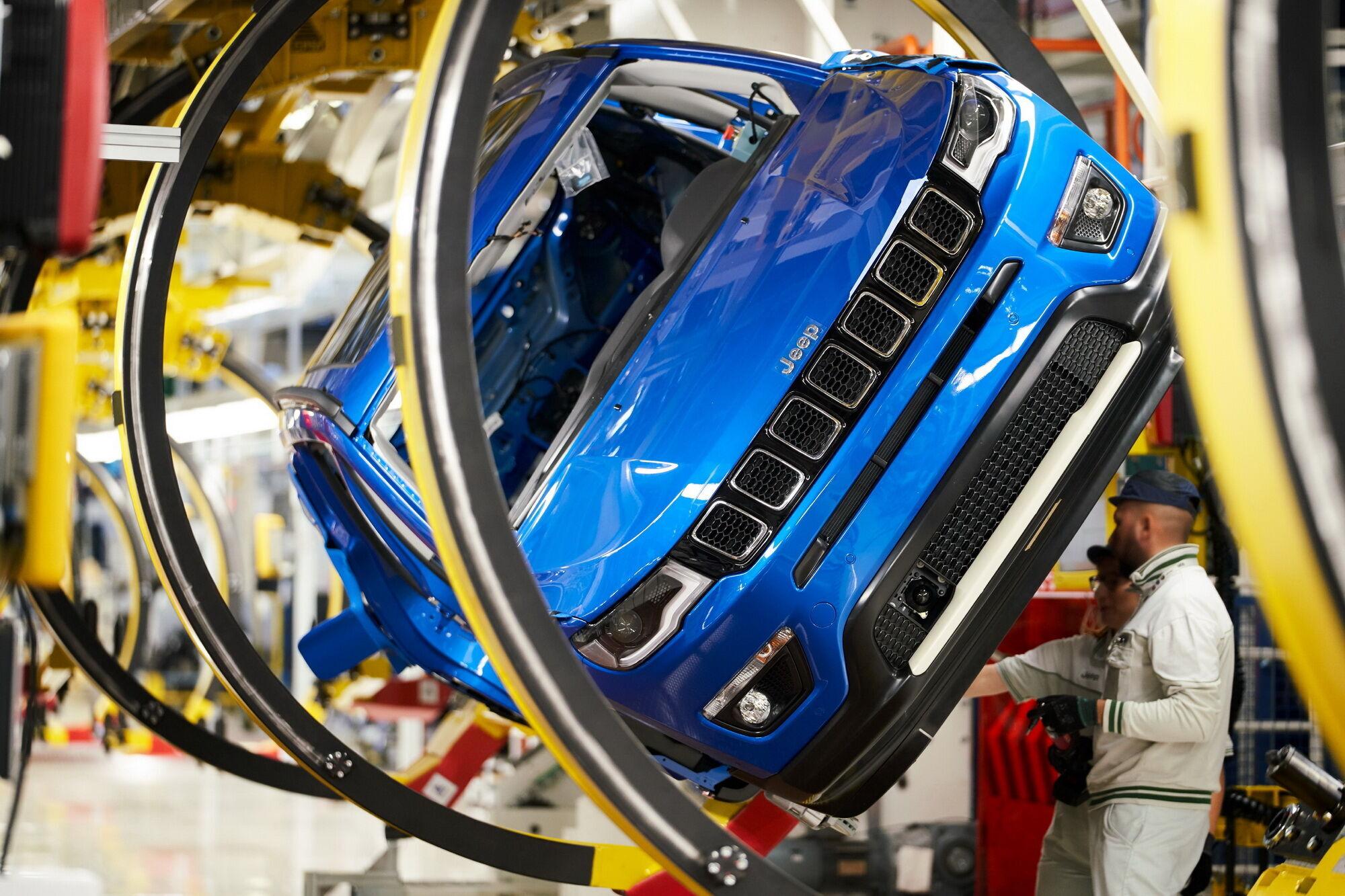 10 заводов в 6 странах мира позволили бренду Jeep значительно увеличить продажи за 10 лет
