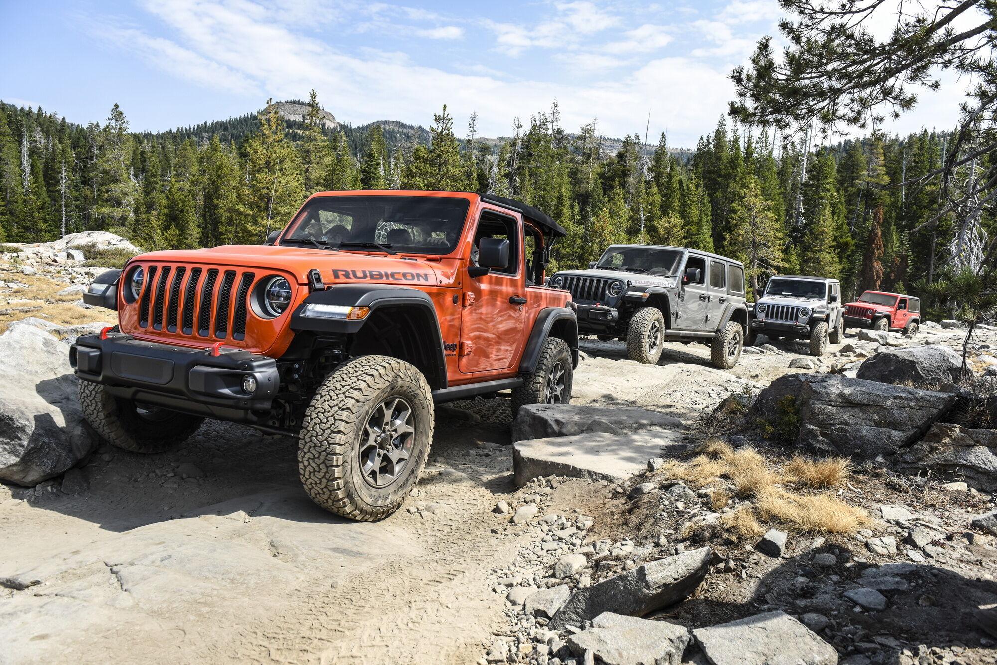 В наши дни Jeep Jamboree проводятся по всей Америке