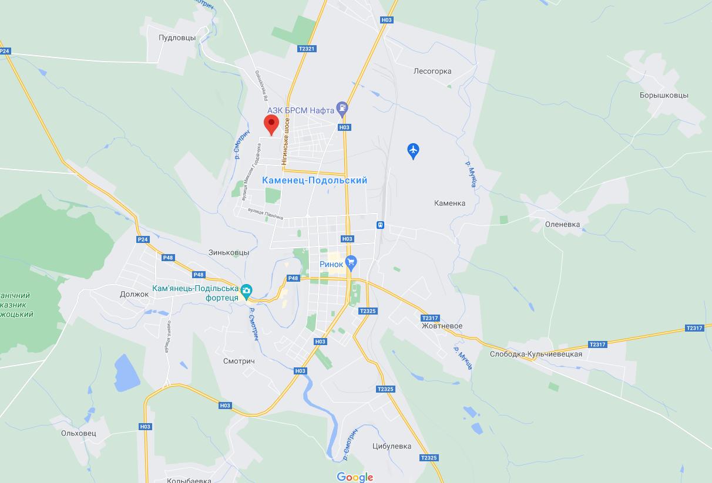 Взрыв прогремел на улице Розвадовского.