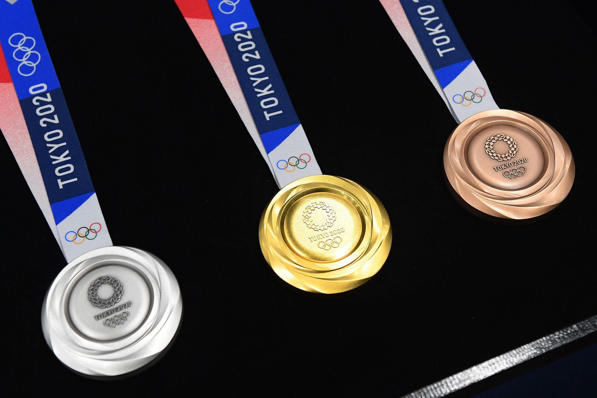 Медали Олимпиады в Токио.