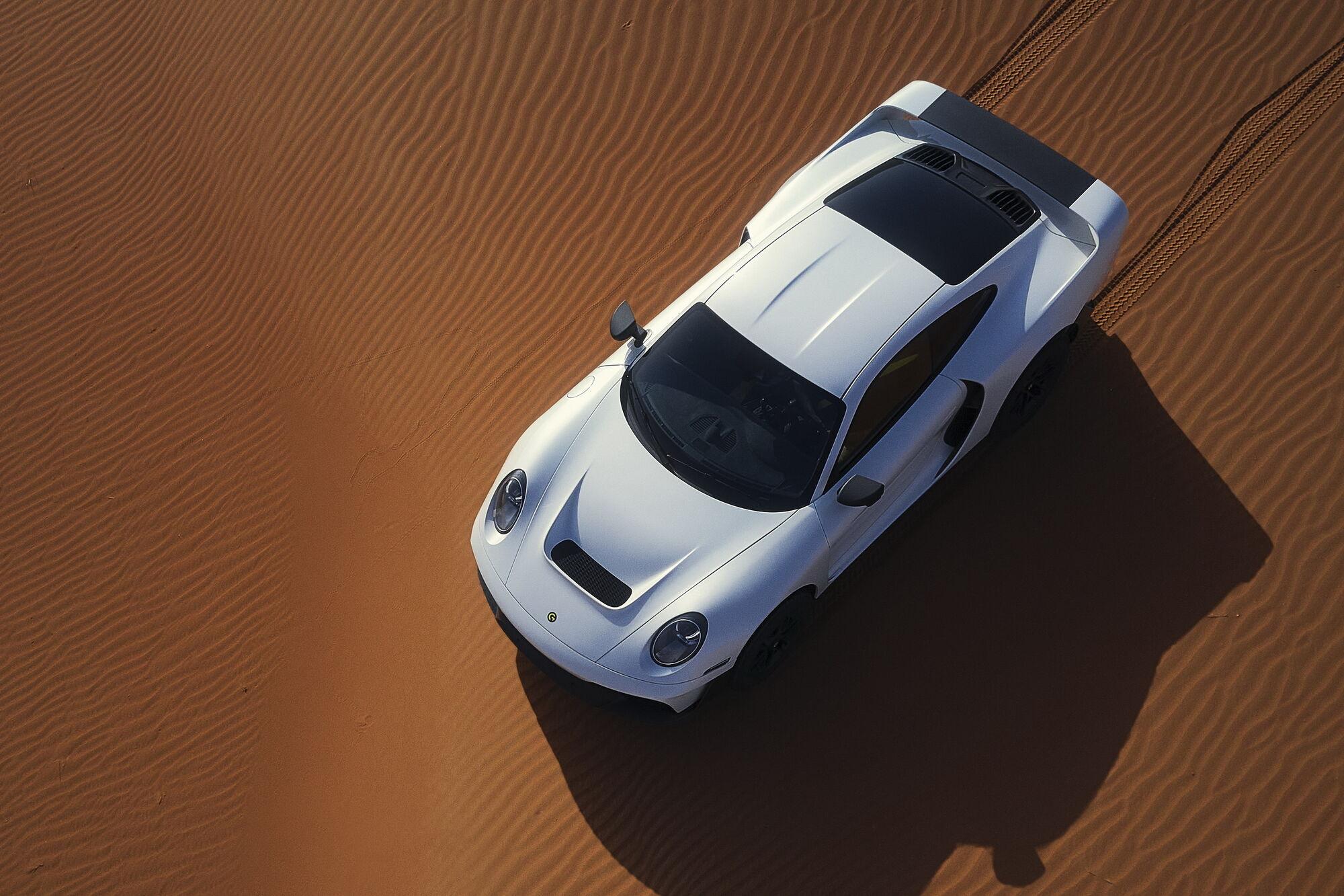 В основе купе Marsien лежит Porsche 911 Turbo S