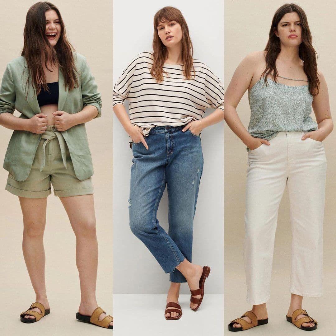 Образи з джинсами і шортами.