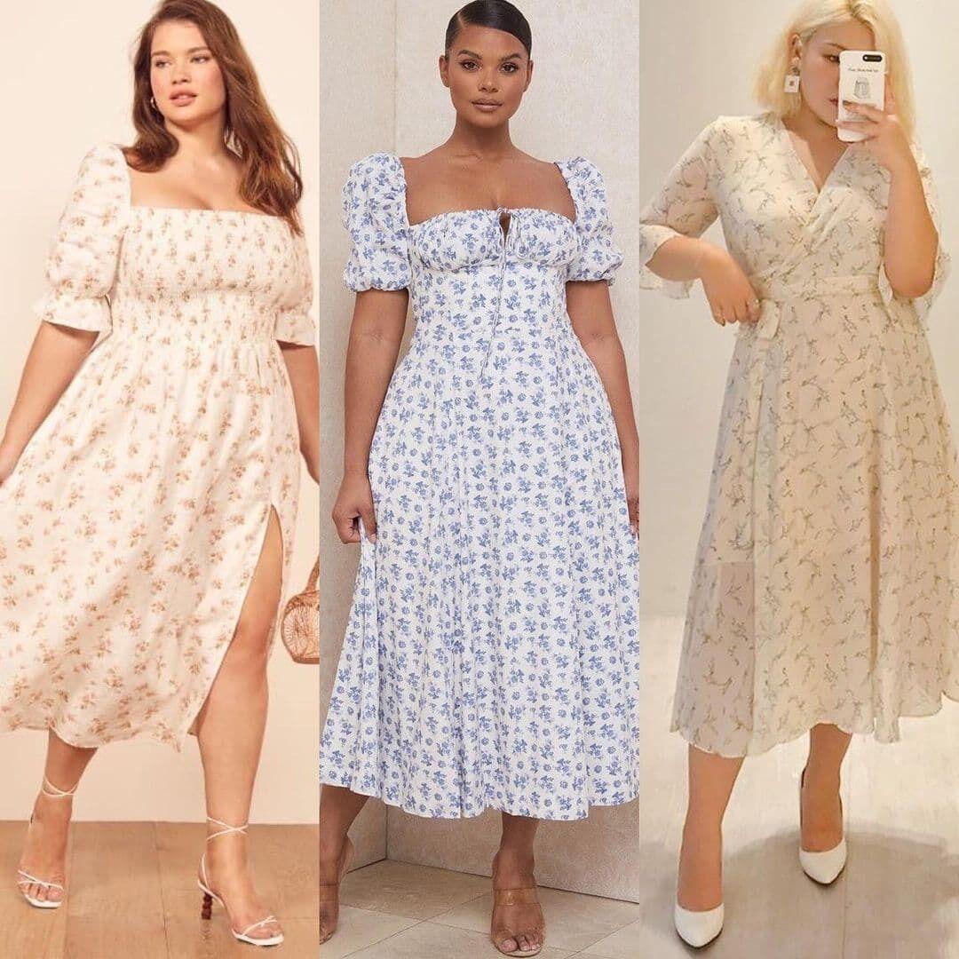 Образи з легкими сукнями.