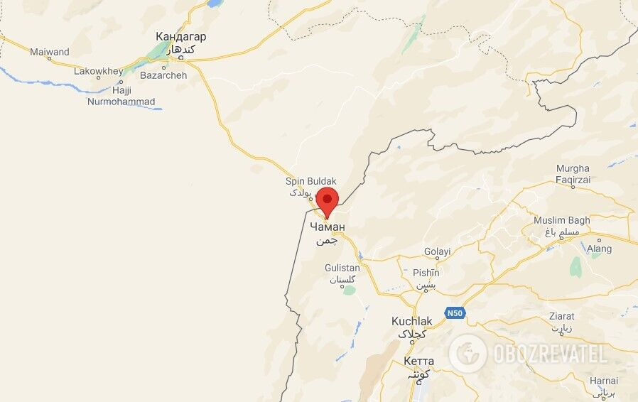 Таліби захопили КПП, розташований на південь від Кандагара